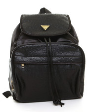 Handbags - ostrich mixed backpack
