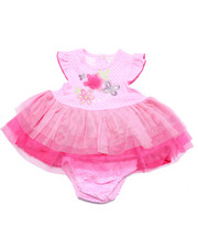 Girls - FLOWER TULLE DRESS (NEWBORN)