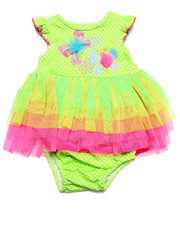 Girls - BUTTERFLY TULLE DRESS (NEWBORN)
