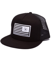 Hats - Flag Trucker Snapback Cap