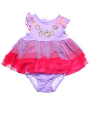 Dresses - NECKLACE TULLE DRESS (NEWBORN)