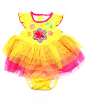 Dresses - FLOWER TULLE DRESS (NEWBORN)