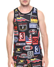 Buyers Picks - Nascar Patch Mesh Tank