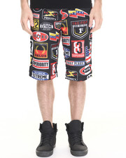 Men - Nascar Patch Mesh Short