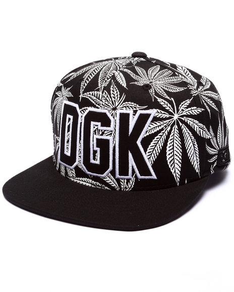 Ur-ID 223356 DGK - Men Black Cannabis Cup Snapback Cap