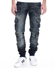 Denim - Ammi Banded Bottom Cargo Pant