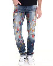 Denim - Goodlife Demon Fit Paint Splatter Jean