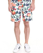 Men - Orange Blossom Mesh Shorts