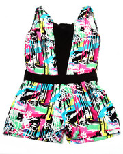 Sizes 4-6x - Kids - GRAFFITI ROMPER (4-6X)