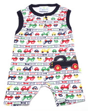 Boys - VROOM VROOM ROMPER (NEWBORN)