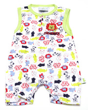 Boys - SAFARI ROMPER (NEWBORN)