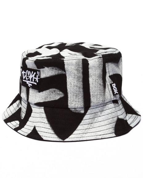 Dgk Men Getting Up Bucket Hat Black