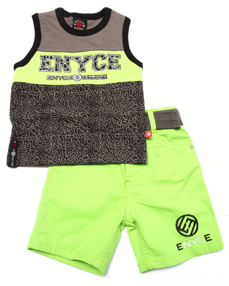 Enyce Lime Green Sets