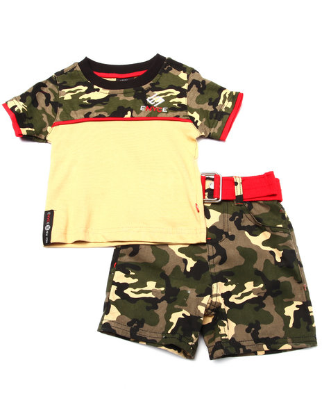 Enyce - Boys Camo 2 Pc Camo Set (Infant)