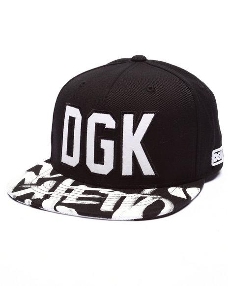 Ur-ID 223366 DGK - Men Black Getting Up Snapback Cap