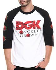 DGK - Roses 3/4 Sleeve Raglan Tee