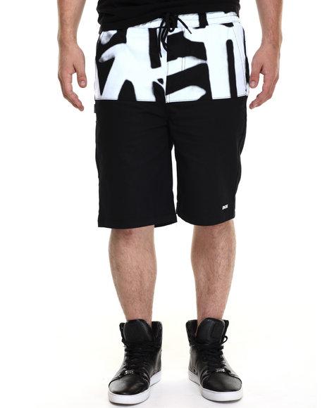 Ur-ID 220253 DGK - Men Black Easy Street Chino Shorts