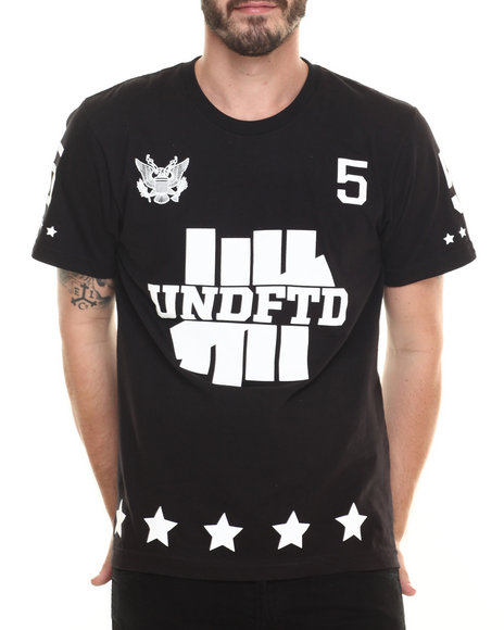 Undftd - Men Black 5Er Tee