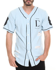Men - Team Thrash Denim Baseball jersey