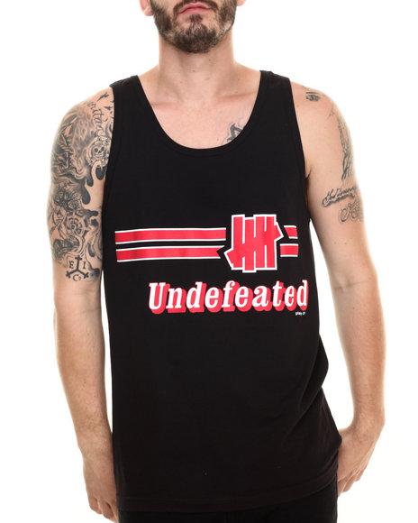 Ur-ID 220223 UNDFTD - Men Black Warm Up Tank