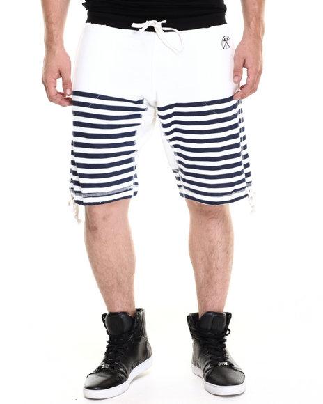 Ur-ID 220255 Civil - Men Cream Monoco Lounger Short