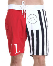 Men - USA Flag Board Short