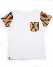 Boys - AZTEC POCKET TEE (4-7)