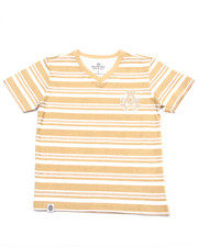 Boys - STRIPED V-NECK TEE (4-7)