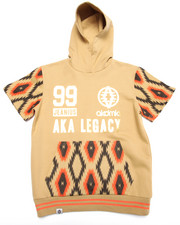 Sizes 8-20 - Big Kids - AZTEC PULLOVER HOODY (8-20)