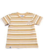 Tops - STRIPED V-NECK TEE (2T-4T)
