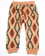 Sweatpants - AZTEC ALL OVER PRINT JOGGERS (2T-4T)