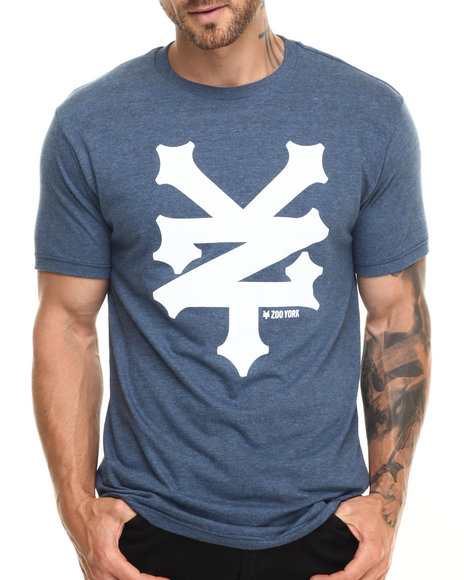 Ur-ID 220007 Zoo York - Men Navy Z Y Logo S/S Tee