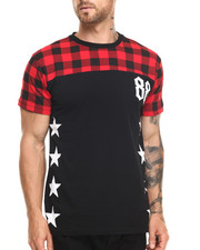 Buyers Picks - Buffalo Plaid Star Tee
