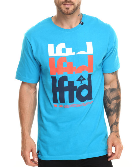 Ur-ID 220288 LRG - Men Blue Lftd T-Shirt