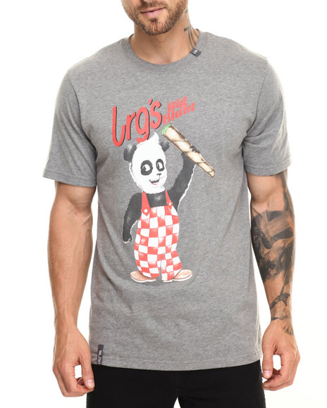 Ur-ID 220290 LRG - Men Charcoal Lrg Big Blunts T-Shirt