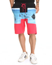 Men - H Shark Drawstring Short