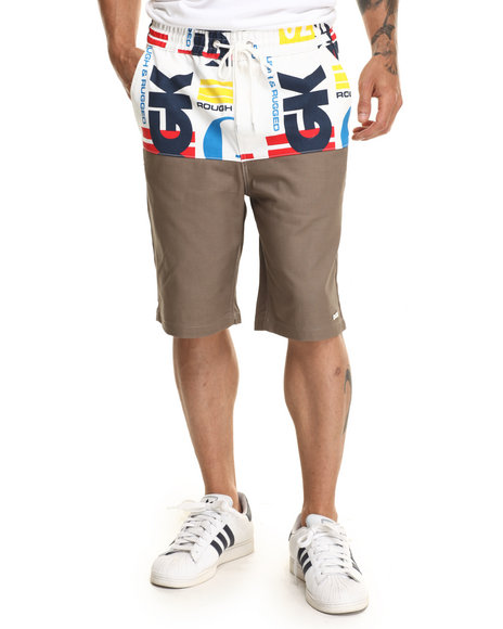 Ur-ID 220309 DGK - Men Khaki Easy Street Chino Shorts
