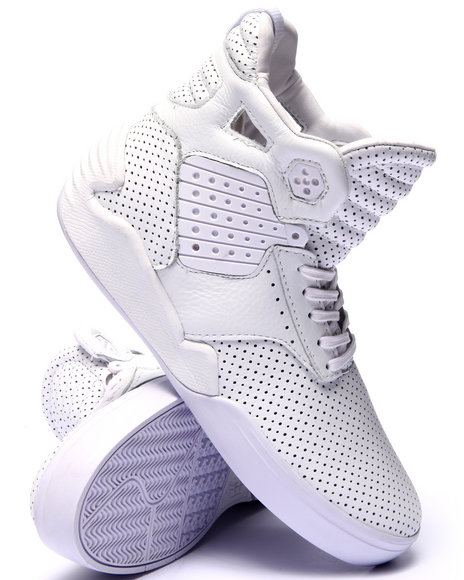 Ur-ID 220122 Supra - Men White Skytop Iv Sneakers