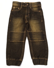 Boys - MOTO DENIM JOGGERS (2T-4T)