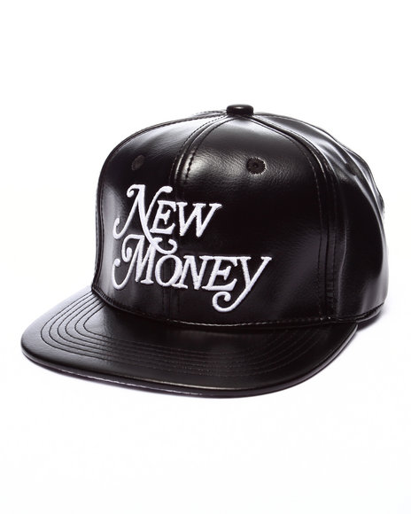 Rocksmith - Men Black New Money Snapback - $34.00