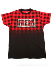 Arcade Styles - BUFFALO CHECK FRESH TEE (8-20)