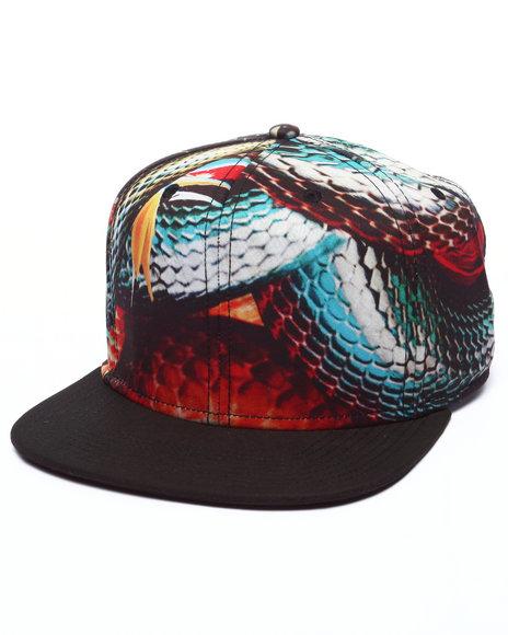 Ur-ID 223376 AKOO - Men Black Versatile Snapback Cap
