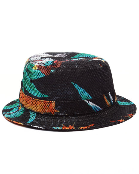 Akoo - Men Black Tropics Reversible Bucket Hat