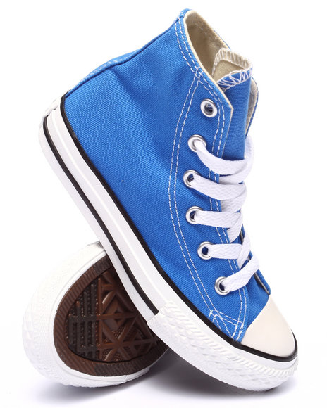 Converse - Boys Blue Chuck Taylor All Star Hi Sneakers (11-3)