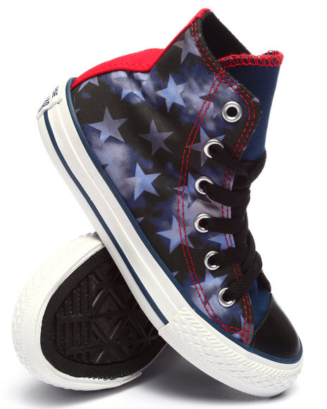 Converse - Boys Navy Americana Chuck Taylor All Star Sneakers (11-3)