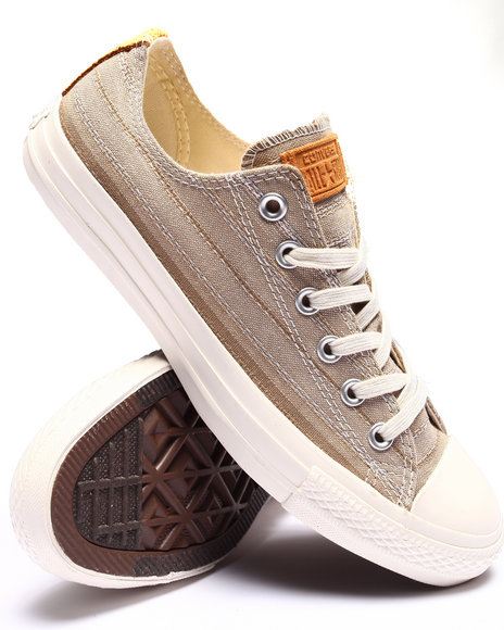 Converse - Men Khaki Chuck Taylor All - Star Crafted Textile Ox