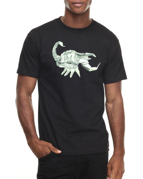 Ur-ID 220332 Acapulco Gold - Men Black Stinger Tee