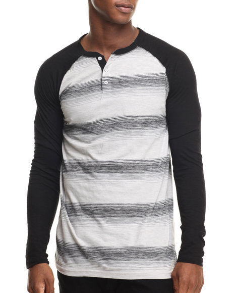 Charcoal Henleys