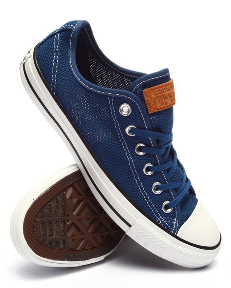 Converse - Men Blue Chuck Taylor All Star Summer Woven Ox