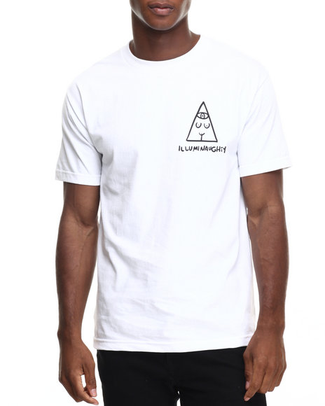 Ur-ID 220384 Acapulco Gold - Men White Illuminaughty Tee